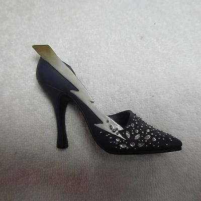 JUST THE RIGHT SHOE Zap 25072 Retired 3/02 Miniature Collectible High Heel