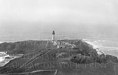 Yaquina Head lighthouse 1920s Cape Foulweather OR photo CHOICE 5x7 or request...