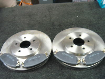 Ford Mondeo Estate 2000-04 Front Brake Discs  & Pads