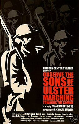 Observe The Sons Of Ulster Broadway Window Card