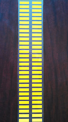 Han Solo Bloodstripes iron-on stripes for pants costume prop Yellow ESB ROTJ