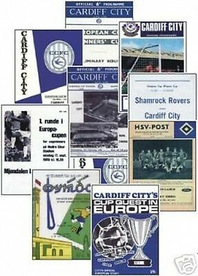Cardiff City European NEW Trading Card Set