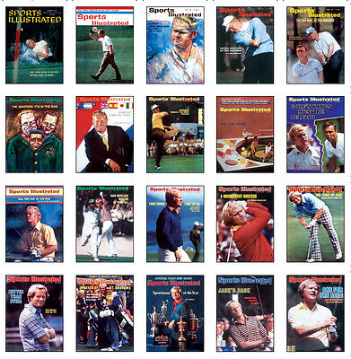 Jack Nicklaus Covers Golf Trading Card Set