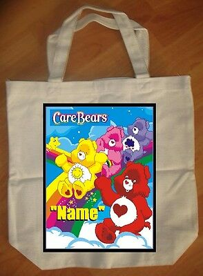 """Care Bears Rainbow"" Personalized Tote Bag - NEW"