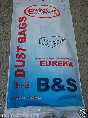 Vacuum cleaner Bags bag fits fit Eureka Style  type B