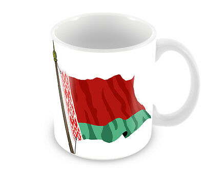 Belarus Flag Coffee Mug  Free Personalisation