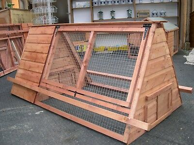 6' X 3' Poultry Chicken Rabbit Guinea Pig Ark / House