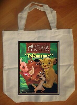 """Lion King"" Personalized Tote Bag - NEW"