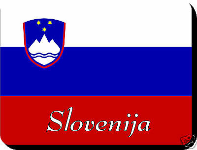 Slovenian  Flag Mousemat   Free Personalisation