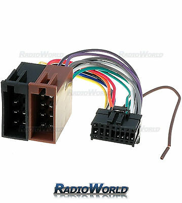 ISO Wiring Harness Connector Adaptor For Pioneer 16 Pin Car Stereo Lead