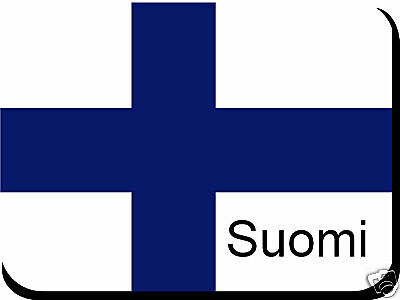 Finnish Flag Mousemat Pad Free Personalisation Finland