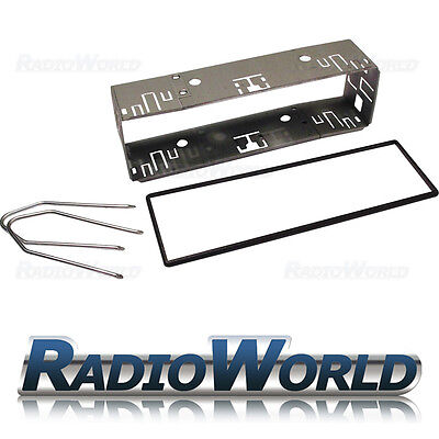 Universal Metal Car Stereo Radio Cage Surround Frame With Spacer Trim keys