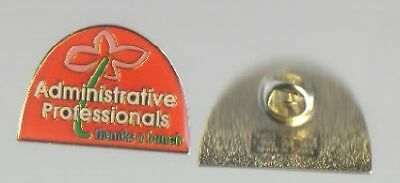 ADMINISTRATIVE PROFESSIONALS THANKS A BUNCH 5 PIN LOT