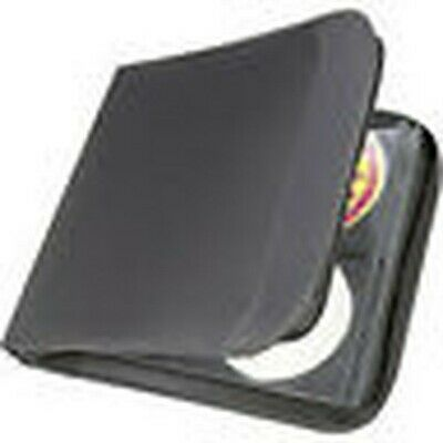 CD Disc Wallet Holds 96 Disc Qty 2 New Black