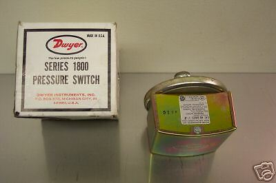 Dwyer 1823-5-Gc Series 1800 Pressure Switch 125Vac 10 Psi  New In Box