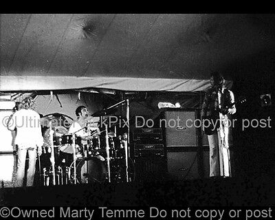 THE WHO PHOTO KEITH MOON PETE TOWNSHEND 1971 8X10 Black and White by Marty Temme