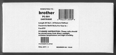 New PC-501 Fax Cartridge for Brother Fax 575
