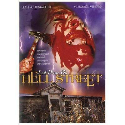 LAST HOUSE ON HELL STREET - LEAH SCHUMACHER - NEW DVD SHIPS 1st CLASS IN US