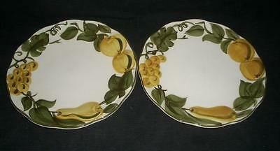 "SCULPTURED FRUIT By STANGL 10 1/8"" DINNER PLATE (s)"