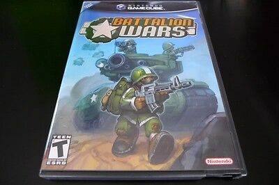 Battalion Wars (Game Cube) Mint OBL & Complete!
