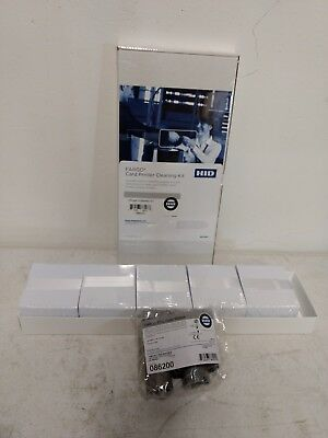 Fargo DTC550 Double Sided ID Card Printing Kit Ribbon + Cards + Cleaning 86201