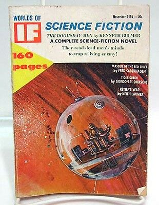 Nov 1965 WORLDS OF IF SCIENCE FICTION Pulp Magazine