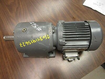 SEW Eurodrive Motor and Gearbox R40D63N4TF 0.18 kw
