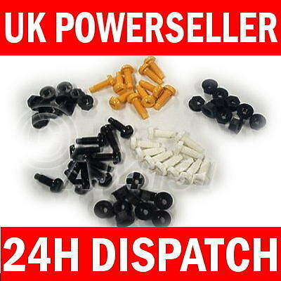 30 Pack Mix Number Plate Reg Plates Plastic Screws