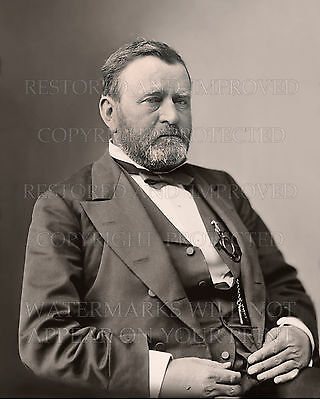 Ulysses S Grant US President 1877 portrait photo CHOICES 5x7 or request 8x10 or