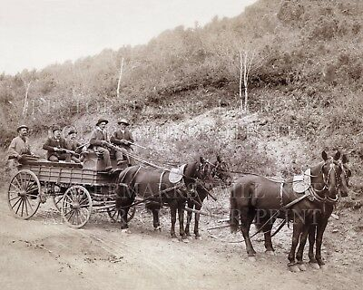 Wells Fargo wagon guards gold Deadwood SD 1890 photo CHOICES 5x7 or request 8x10
