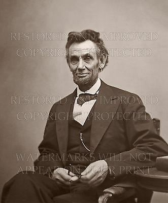 Abraham Lincoln by A. Gardner 1865 photo portrait picture CHOICES 5x7 or request