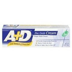 A & D Diaper Rash Cream with Aloe - 4 oz