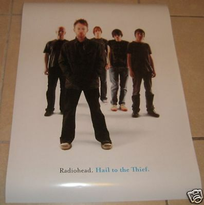 RADIOHEAD * Hail To The Thief Poster * Two Sided *