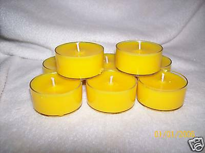 100 Pack Soy Tealights HIGHLY SCENTED - U Pick Scents!