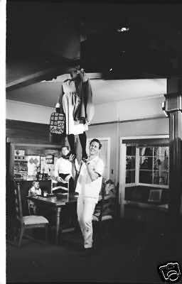 Bewitched Erin Murphy Dick York Crew Member On Set 1967 Abc Tv Photo Negative