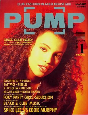 PUMP Japan disco magazine 1/ 1990 Neneh Cherry