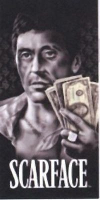 Scarface Towel Tony Montana Gangster Beach Bath new