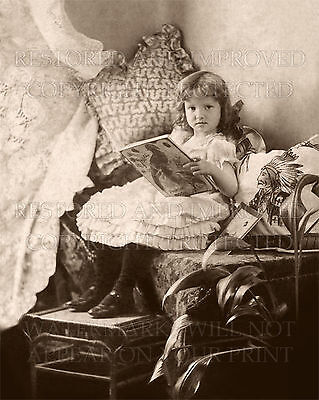 Victorian mother dressing daughter 1902 photo CHOICES 5x7 or request 8x8 or 8x10