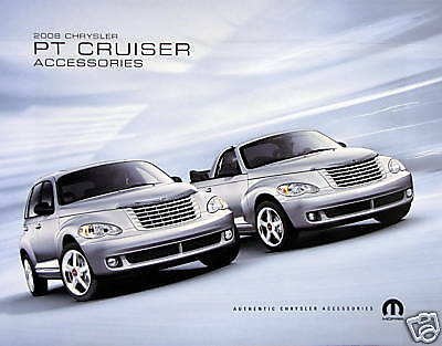 2008 Chrysler PT Cruiser accessories brochure