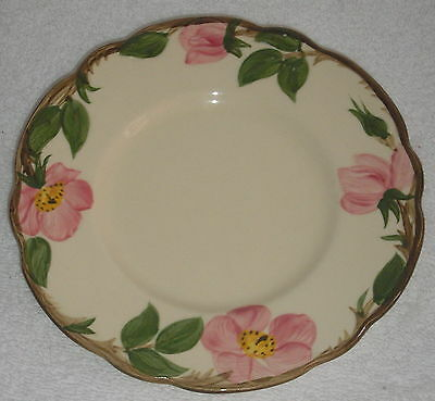 "FRANCISCAN DESERT ROSE SALAD PLATE 8""  MINT"