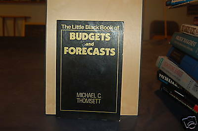 The Little Black Book of Budgets and Forecasts