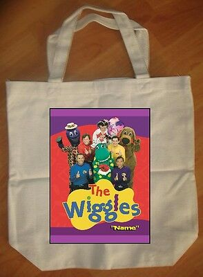 The Wiggles Personalized Tote Bag - NEW