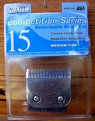 Clipper Blades - Wahl Competition Series Size 15