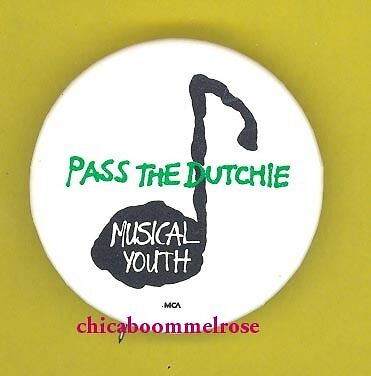 Musical Youth OFFICIAL 1982 badge button pinback M