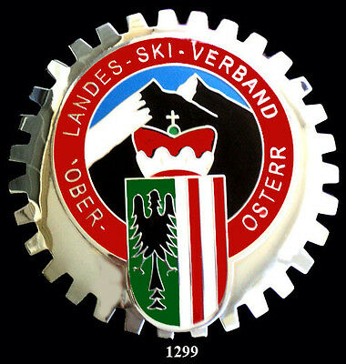 CAR GRILLE EMBLEM BADGES - AUSTRIA SKI CLUB