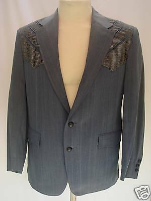 42R Mens Western Wear Cowboy Sport Coat Blazer Jacket