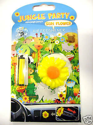 Simpatico Deodorante Profumo Per Auto Girasole Jungle Party