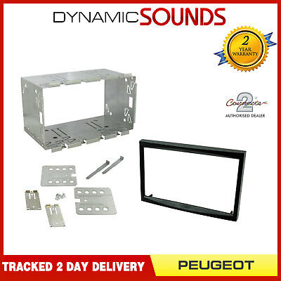 CT23PE01A Double DIN Fascia Fitting Kit For Peugeot 207 307