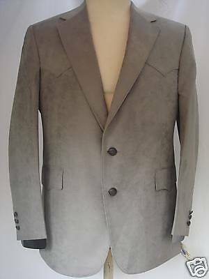 40R Mens Western Wear Cowboy Sport Coat Blazer Jacket