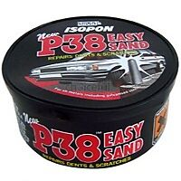 Davids Isopon P38 body filler 250ml car repairs dents